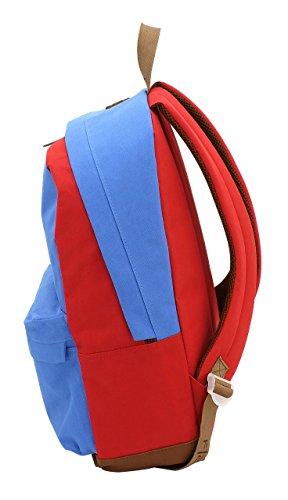 F.L. Mochila Azul / Rojo 45 cm Azul / Rojo