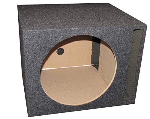 Q Power Single 10-Inch Vented Unloaded - Box Unloaded Subwoofer