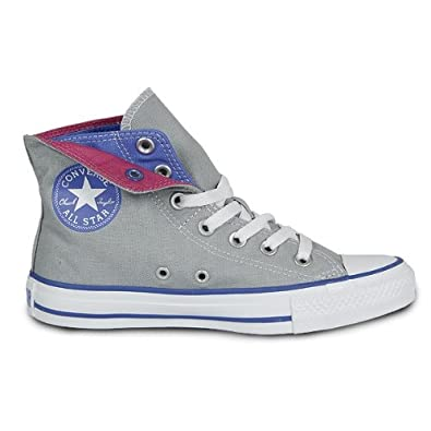 4a6c18f91269ad Converse Chuck Taylor All Star Two Fold High Grey   Blue  Amazon.co.uk   Shoes   Bags