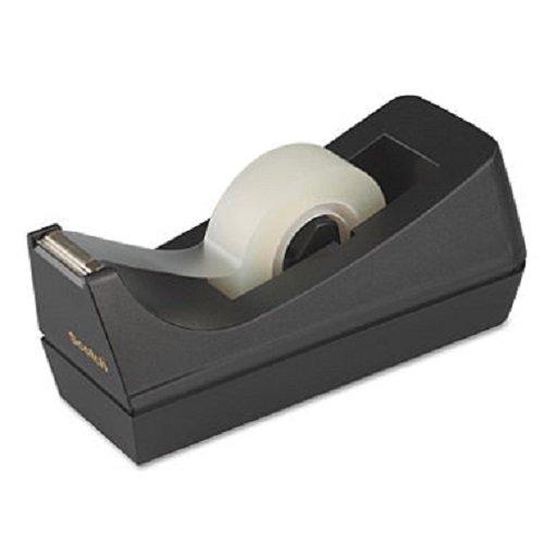 Scotch Desk Tape Dispenser, 1in. Core, Black 3-Pack