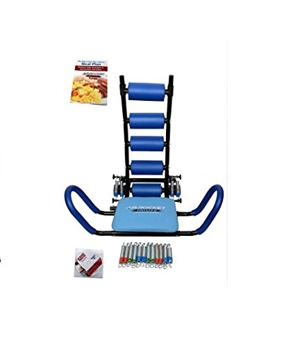 IBS Ab Rocket Twister Platinum Abrocket Twister Machine Portable Home Workout Gym With 6 Springs Ab Exerciser Core   Abdominal Trainers