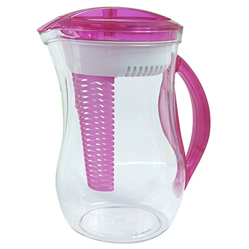 itcher with Water Filter, 2.44 L, Pink ()
