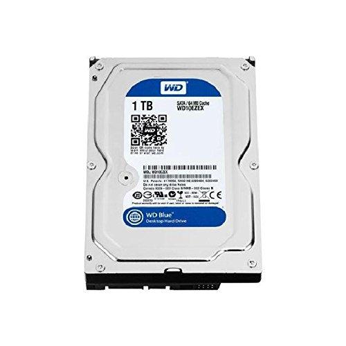 WD Blue 1TB SATA 6 Gb/s 7200 RPM 64MB Cache 3.5 Inch Desktop Hard Drive (WD10EZEX) (Ssd 1 Tb Internal)