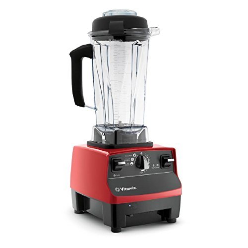 Vitamix Certified Reconditioned Standard Programs Blender, Red