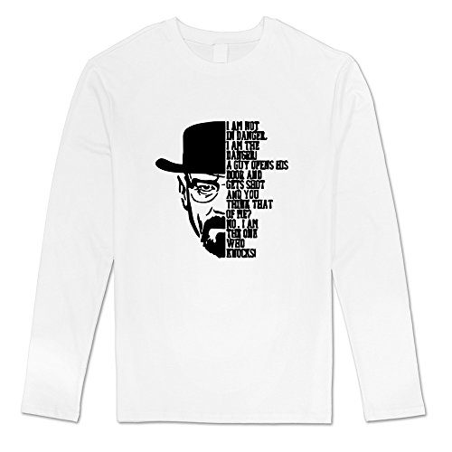 [Seico Men Breaking Bad Tees White Size S] (Breaking Bad Jesse Costumes)