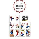 Mario Bros Cake Topper   18PCS Toy Set   Bonus Sticker Included ToysoutletUSA
