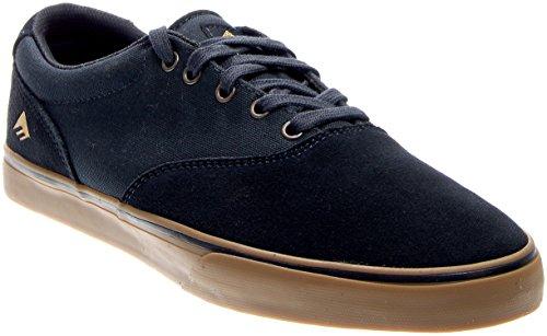 Emerica Provost Slim Vulc Skate Shoe,Navy/Gum,5.5 D