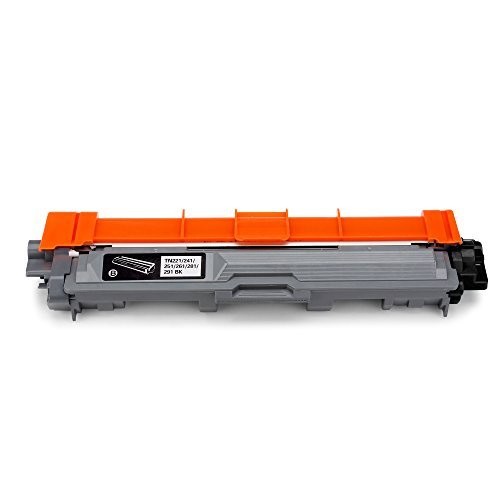 Office World Compatible Toner Cartridge Replacement for Brother TN221 TN-221 TN225 TN-225 (1 Black), Work with Brother HL-3140CW HL-3170CDW MFC-9130CW MFC-9330CDW