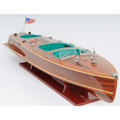 Old Modern Handicrafts Handicrafts New Chris Craft Triple Cockpit Collectible