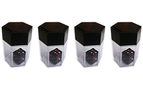 Dice Bomb - Actopus 4sets Dice Bomb Magic Trick 1 Change 8 Dices Small Gimmick Box