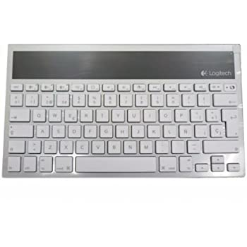 Logitech Wireless Bluetooth Solar Keyboard K760 For iPad, iPhone, iMac (Spanish Version 920-004416)