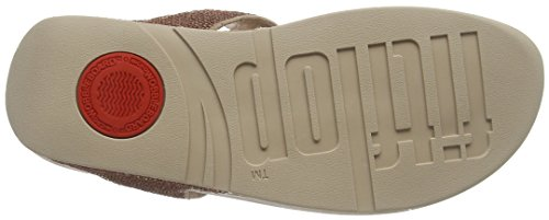 Fitflop Electra Micro, Chanclas para Mujer Rosa (Rose Gold)