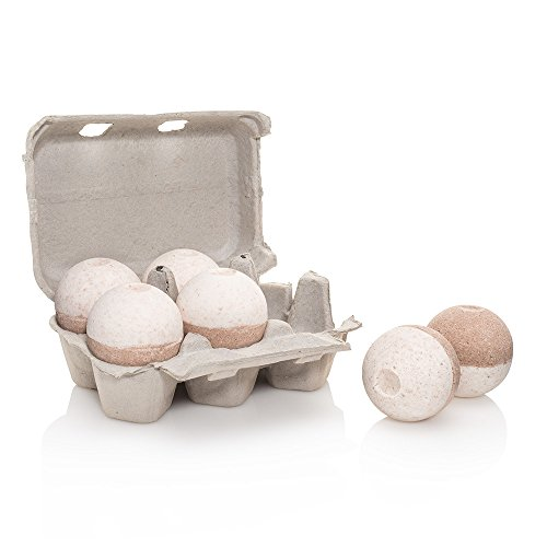 Level Naturals Body (Level Naturals Six-Pack of Ultra Lush Spa Bath Bombs (Frankincense and Myrrh))