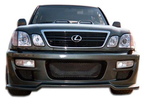 - Duraflex ED-FTD-801 Platinum Front Bumper Cover - 1 Piece Body Kit - Compatible For Lexus LX 1998-2007