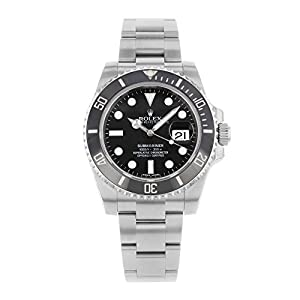 41xwWEvphkL. SS300  - Rolex Submariner Date Black Dial Ceramic Bezel Men's Watch 116610LN