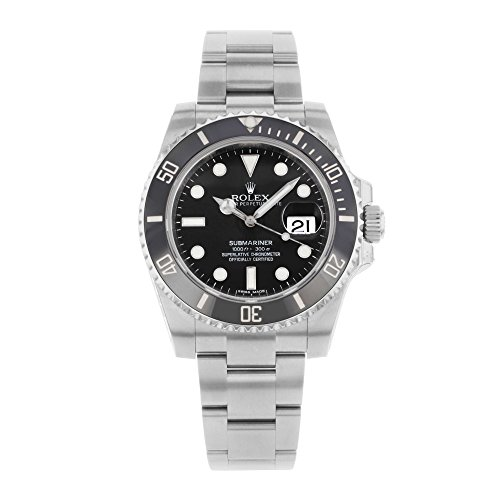 Rolex Submariner Date Black Dial Ceramic Bezel Men's Watch 116610LN by Rolex (Image #1)