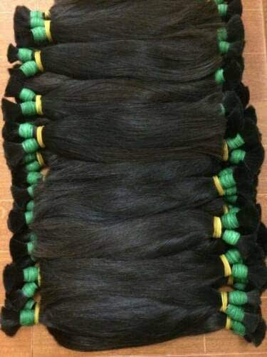 1kg Black Large Bundles Asian Hair 100% Human Hairs For Extension Pony tail 23