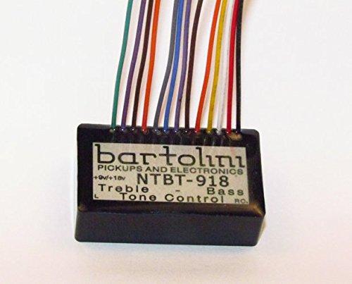 BARTOLINI NTBTG-918 Tone Control Pre Amp Kit 2-Band EQ