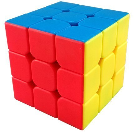 MoYu YJ Yulong Smooth Stickerless Speed Cube Puzzle, 56mm