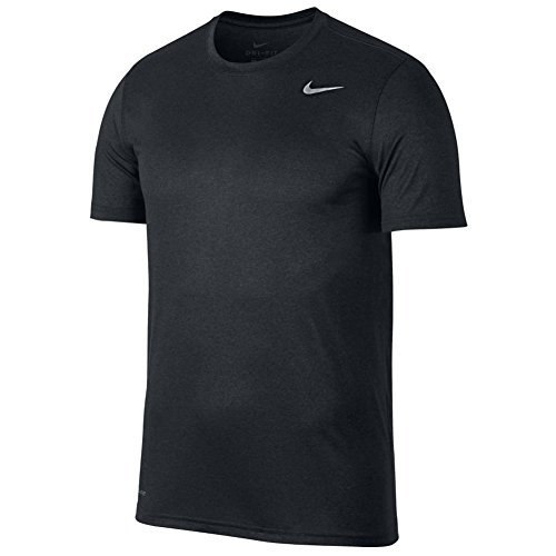 New Nike Men's Nike Dry Training T-Shirt BLACK/ANTHRACITE M