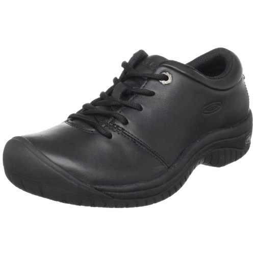 KEEN Utility Women's PTC Oxford Work Shoe,Black,7 M US by KEEN Utility