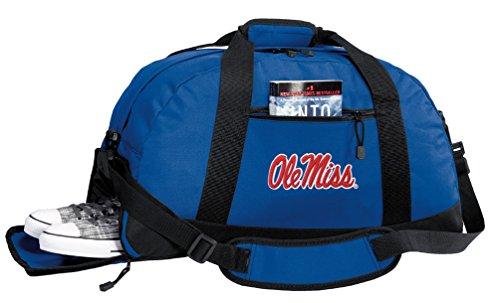 Broad Bay Ole Miss Gym Bag - University of Mississippi Duffel Bag w/Shoe Pockets