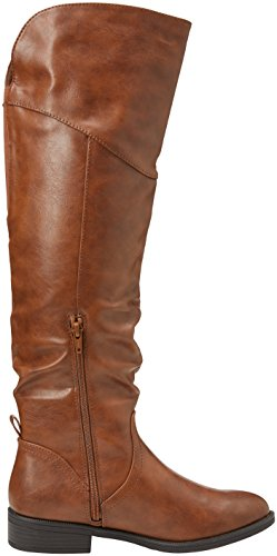 Miss KG Damen Willa Langschaft Stiefel Beige (Tan)