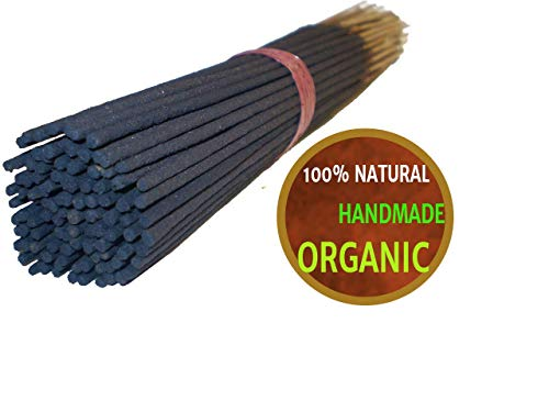 Yajna Frankincense And Myrrh 100% Natural Incense Sticks Handmade Hand Dipped The Best Woods Scent 100 Pack - Hand Dipped Incense