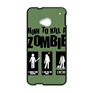 Happy Kill Zombie Cell Phone Case for HTC One M7