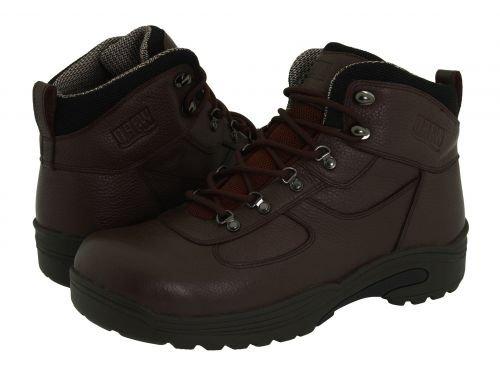 Drew(ドリュー) メンズ 男性用 シューズ 靴 ブーツ 安全靴 ワーカーブーツ Rockford Waterproof Boot Brown Tumbled Leather [並行輸入品]   14 W (EE) B07BMN5JM4