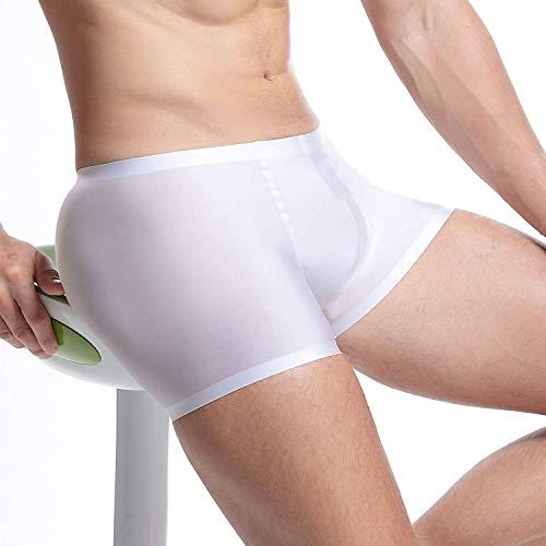 Unique Elasticizzati Pantalone Da Bassa Cuciture Imbottiti Bobo E Pantaloncini 88 Bianca Senza Uomo Stlie Traspiranti Morbidi A Vita qFWzAWwB