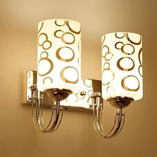 Eeayyygch Minimalistische Wandleuchte E26   27 Sockel Wandleuchte Nachttischlampe Wand Schlafzimmer Kreative Wohnzimmer Treppe LED Off Road 8