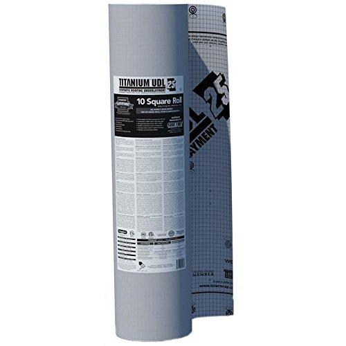 Titanium UDL 25 Synthetic Underlayment (Pallet of 42 Rolls)