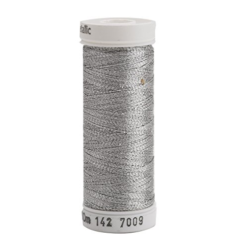 Sulky 142-7009 Metallic Thread for Sewing, - Pewter Floss