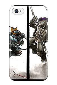 Fashion YjmScuW19783wzvRR Case Cover For Iphone 4/4s(tmnt In Action Comics Anime Comics) wangjiang maoyi