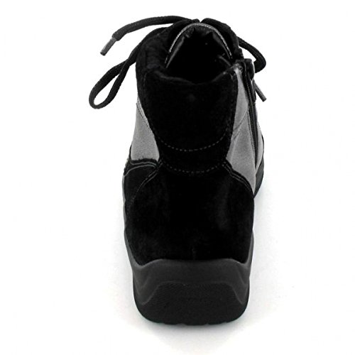 Waldläufer 312801-201 564- Hesna - Botas para mujer negro negro negro