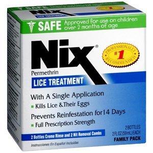 NIX CREME RINSE 2X2 FAMILY 4 OZ