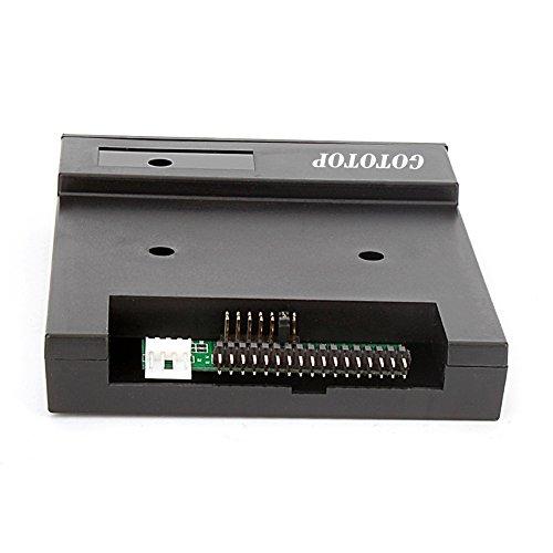 "Floppy & Tape Drives-3.5"" 1.44MB Sfr1m44-u100k Updated Version USB Flash Disk Floppy Drive Emulator + CD Screws Black by GOTOTOP (Image #2)"