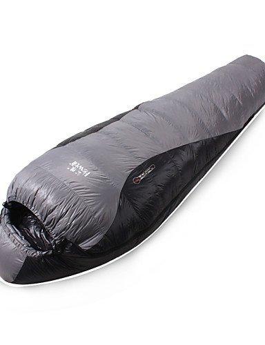 Schlafsack ( Grau ) - Feuchtigkeitsdurchlässigkeit/Atmungsaktivität/Winddicht/warm halten/Videokompression/rechteckig/Kaltes Wetter -