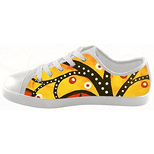 Custom arte albero dipinto Kids Canvas shoes Le scarpe le scarpe le scarpe.