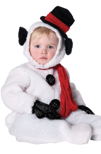 Underwraps Baby's Snowman, White/Black/Red, Small for $<!--$22.50-->