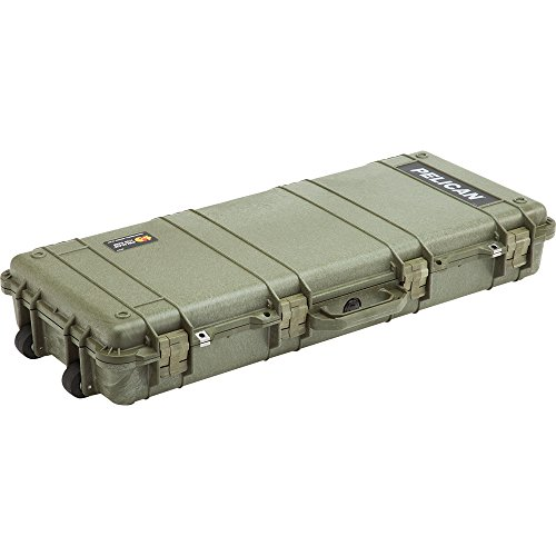Pelican 1700 Rifle Case With Foam (OD Green) by Pelican