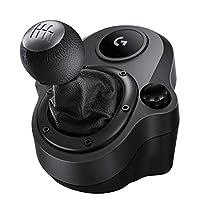 Logitech Driving Force Shifter - Palanca de Cambios para Volante G29 Y G920, Playstation 4, Negro