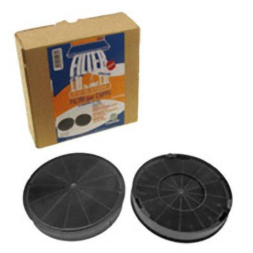 Roblin 5403004 Filtro Carbone Adattabile per Cappa Diametro: 195 mm, 2 pezzi MONDO