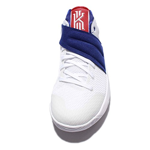 cheap for discount 5527e 92dd4 ... switzerland 50off nike kyrie 2 gs white red blue usa 876ca 5e80b