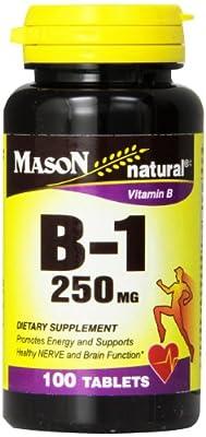 Mason Vitamins, Vitamin B