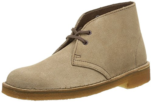 Clarks Originals Desert Boots Femme Marron (Wolf)