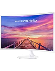 """Samsung 32"""" Curved FHD Monitor (CF391), White, 32, LC32F391FWEXXY"""