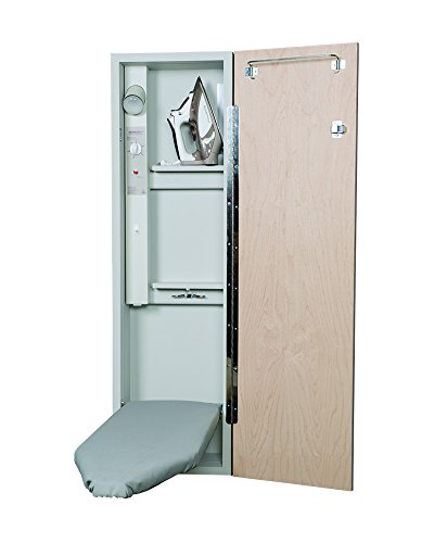 Iron-A-Way Deluxe Electric Ironing Center, Mirror Door