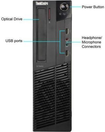 Lenovo ThinkCentre M92p SFF Computer Tower PC (Intel Core i7-3770, 8GB Ram, 500GB HDD, WiFi, DVD-RW, Keyboard Mouse) 19in LCD Monitor Brand Vary Windows 10 (Renewed)